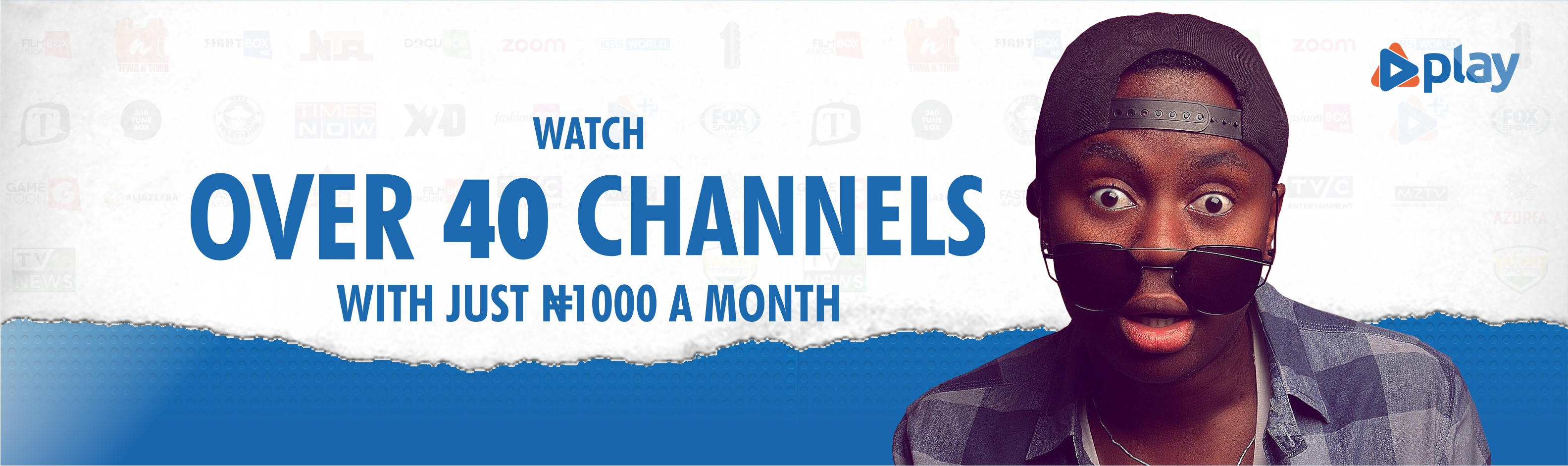 Over 40 Channels